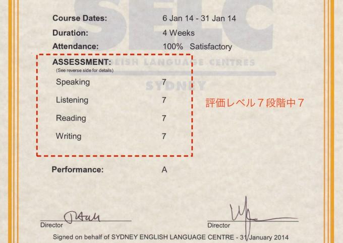 オーストラリア 語学学校 テスト