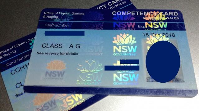 オーストラリアワーホリカジノ仕事RSARCG資格シドニー