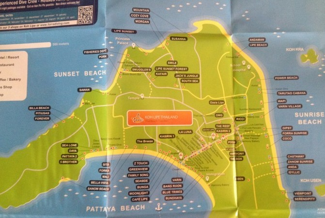 リペ島 地図