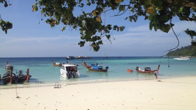 リペ島タイ最後の秘境パタヤビーチ