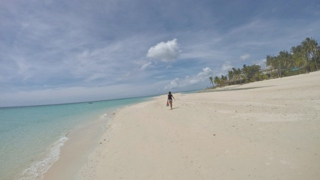 バンタヤン島 ビーチ