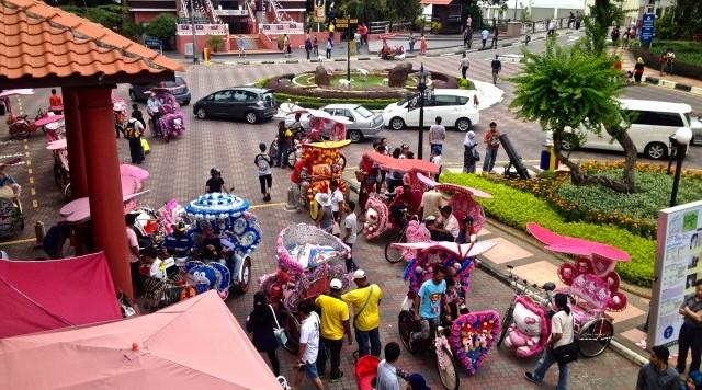 マレーシアの世界遺産マラッカ観光スポット