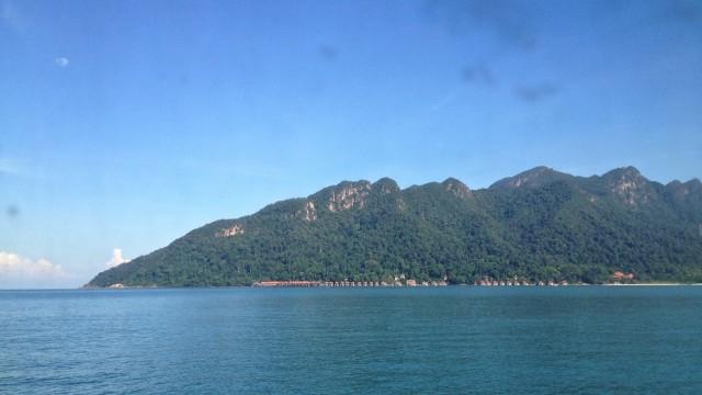 リペ島行きのフェリーに乗船してマレーシアランカウイを出国