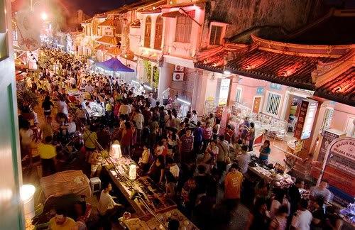マラッカ観光の人気スポット:Jonker Walkストリート