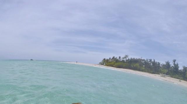 バンタヤン島 シュガービーチ