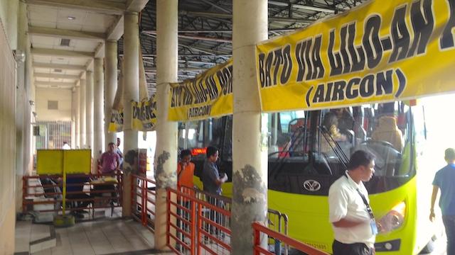 ドゥマゲテ セブ 行き方 バス