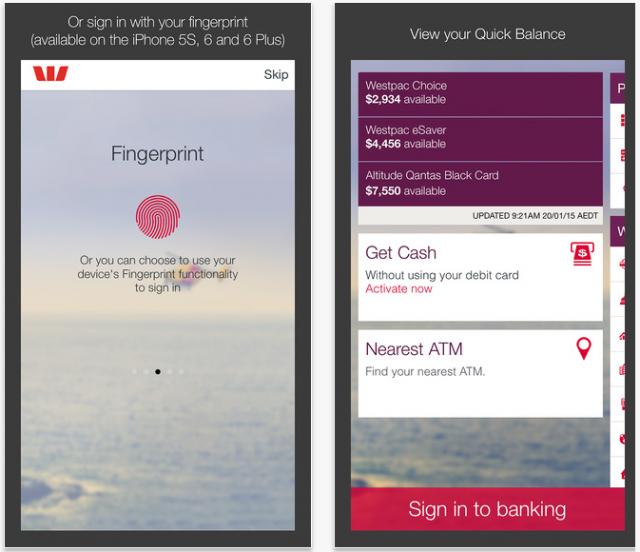 オーストラリア銀行アプリモバイルバンキング