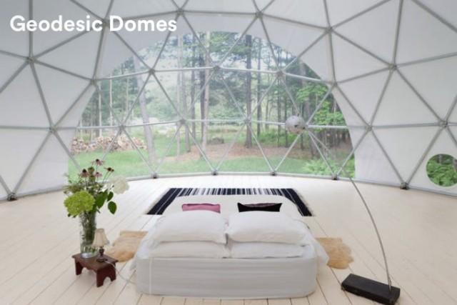Airbnb招待割引で泊まれるドーム
