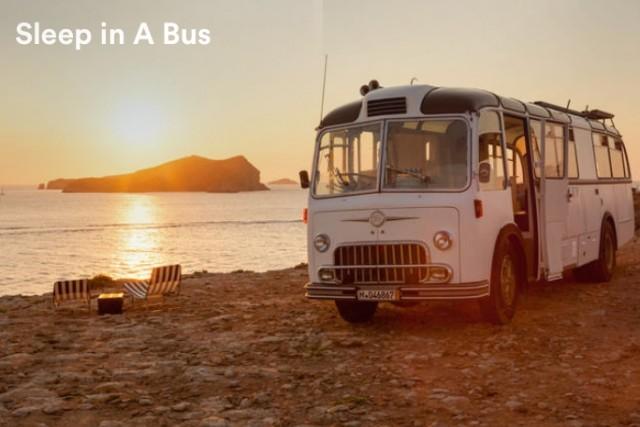 Airbnb招待割引で泊まれるバス
