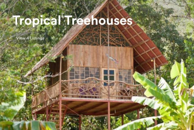 Airbnb招待割引で泊まれるツリーハウス