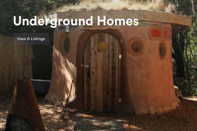 Airbnb招待割引で泊まれる地下ホテル