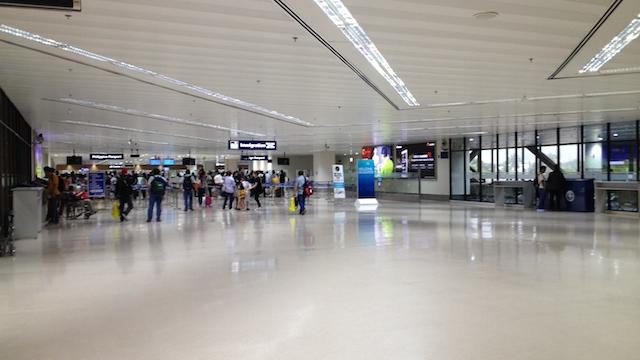 Uberフィリピンマニラ空港ターミナル間移動