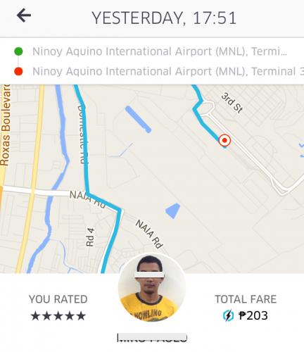 首都マニラでUber(ウーバー)を活用した感想
