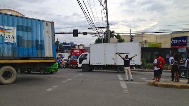 フィリピン セブ 渋滞