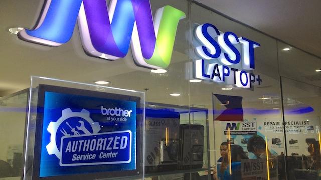 フィリピン macbook 修理