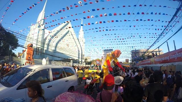 フィリピンセブ祭り