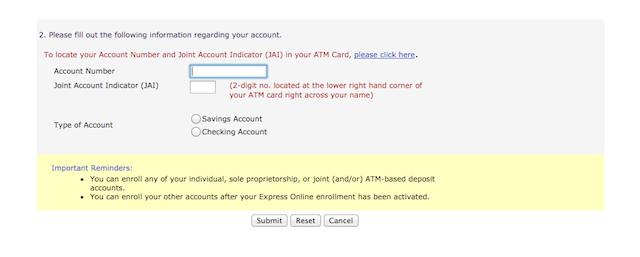 フィリピン銀行オンラインバンキング登録