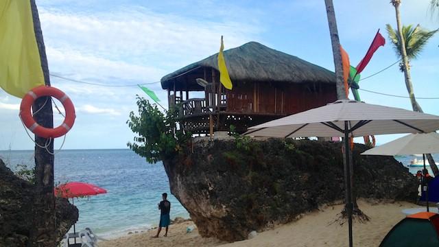 セブ島南部アルコイのホテル