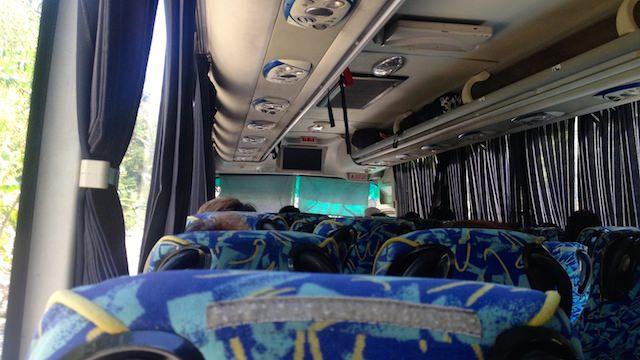 ジンベイザメと泳げるセブ島南部オスロブ行きのバス