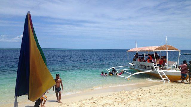 セブ島アルコイにある人気ビーチ