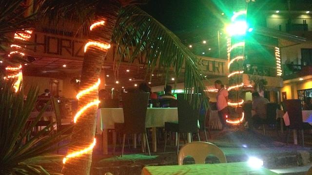 アロナビーチ レストラン