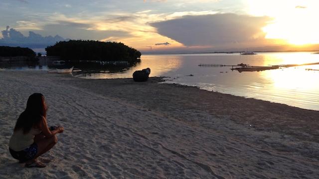 セブの離島オランゴ島