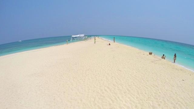 セブのカランガマン島