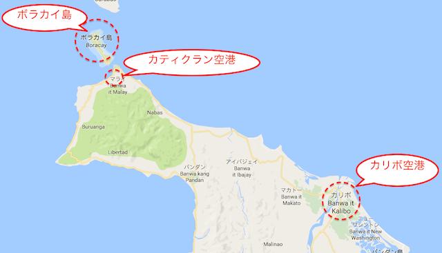 日本からフィリピンボラカイ島の行き方