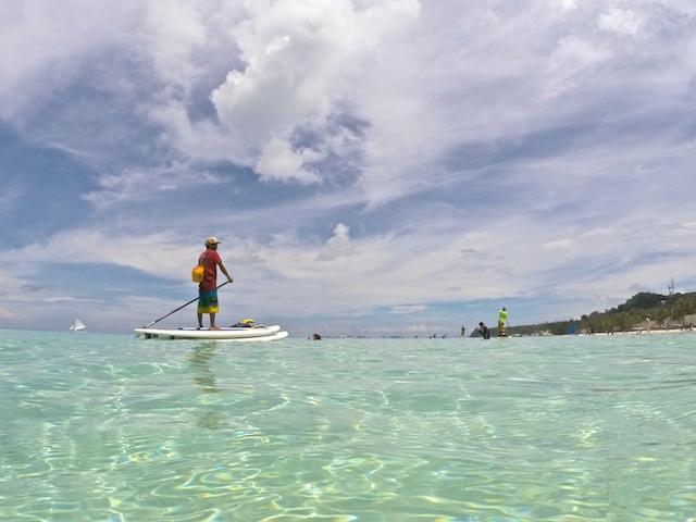 フィリピンボラカイ島のアクティビティ