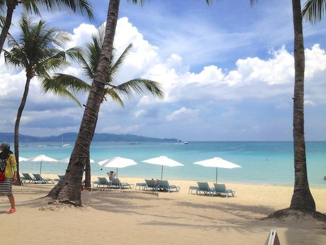 ボラカイ島のビーチリゾート