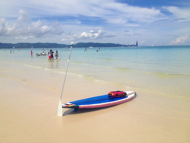 ボラカイ島の人気アクティビティSUP