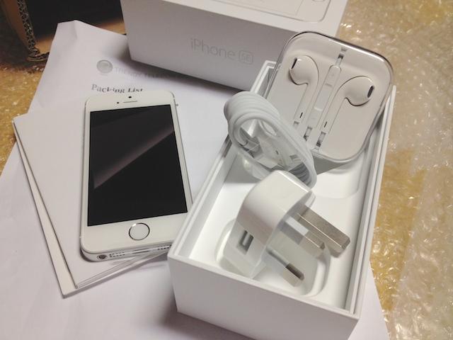 香港から個人輸入した海外版iphone
