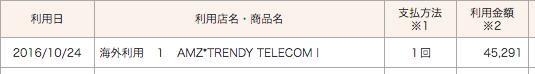 個人輸入した海外版iphoneの値段