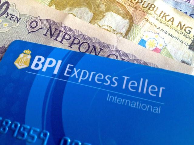 フィリピンbpi銀行のatmカード