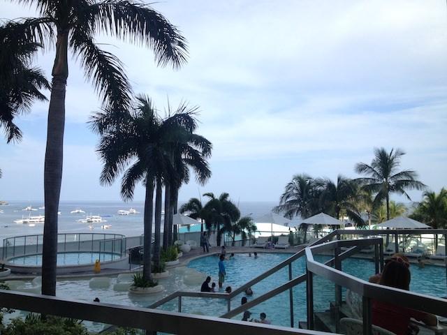 フィリピンのセブ島で年越しカウントダウン