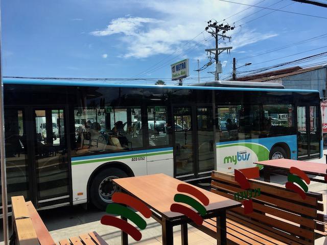 マクタンセブ空港からマイバスで市内移動
