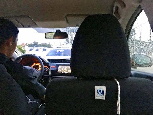 マクタンセブ空港からグラブタクシー移動