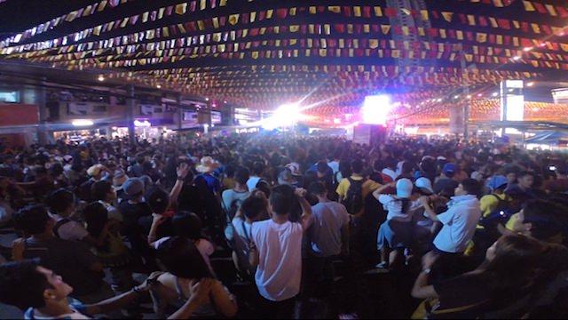 セブ島シヌログ祭りクラブイベント
