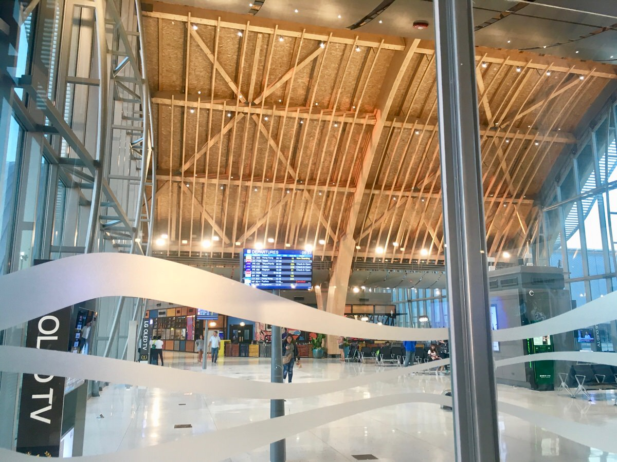 フィリピンのマクタンセブ空港出国税