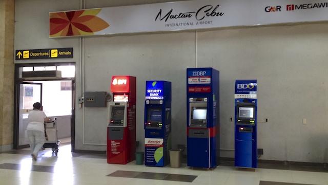 セブ 空港 ATM