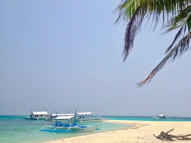 フィリピン旅行セブ島のビーチ
