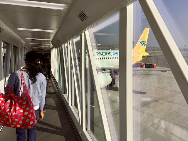 フィリピンセブ島と香港の間をLCCセブパシの直行便で格安移動
