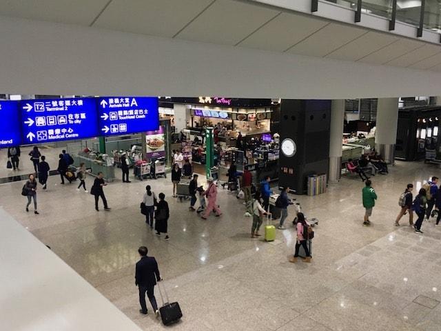 香港国際空港からバスで香港島方面へ移動する方法