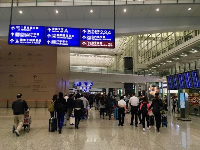 香港国際空港でオクトパスカード購入する方法