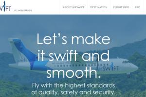 エアスイフト航空券予約購入方法
