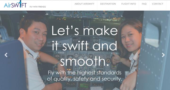 フィリピン屈指の人気スポットを結ぶエアスイフト航空