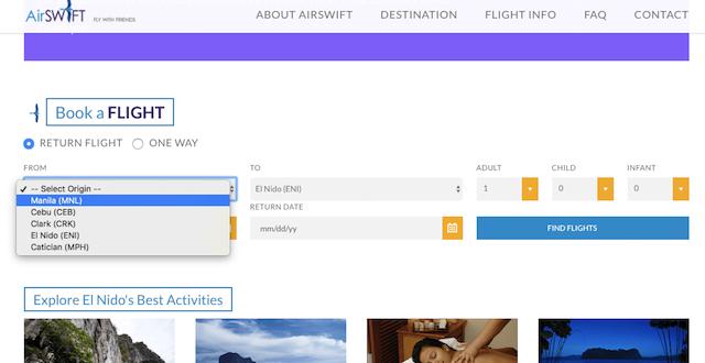エアスイフト(AirSWIFT)の直行便チケット予約・購入方法