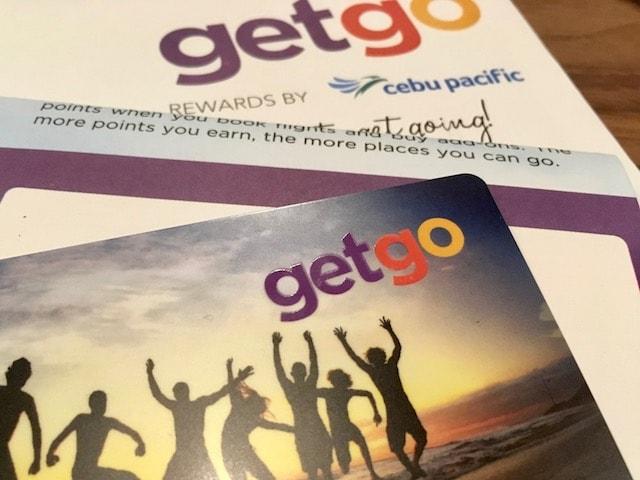 セブパシフィックのGetGo会員メンバーカード入手方法