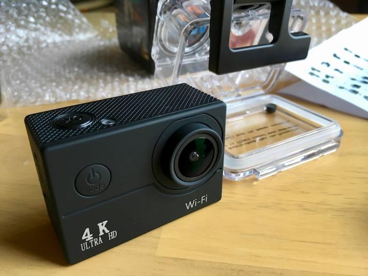 海外通販tomtopで4Kアクションカメラ入手