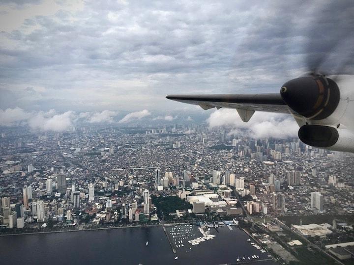 フィリピンのマニラ空港で乗り継ぎ